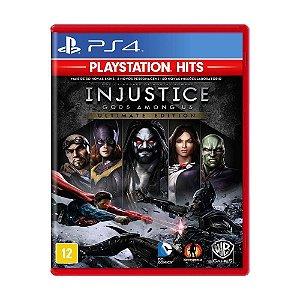 Injustice Gods Among US: Ultimate Edition Hits - PS4 (usado)