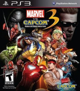 Marvel Vs Capcom 3: Fate of Two Worlds - PS3 (usado)