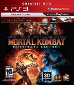 Mortal Kombat: Komplete Edition Hits - PS3 (usado)
