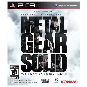 PS3 Metal Gear Solid - The Legacy Collection 1987-2012