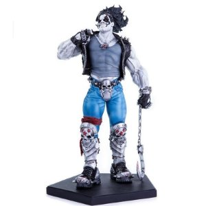 Lobo DC Comics - Art Scale 1/10 Iron Studios