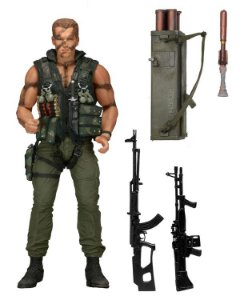 Commando John Matrix - Neca