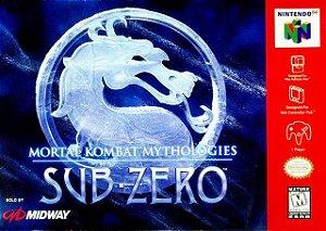 N64 Mortal Kombat Mythologies - Sub-Zero (usado)