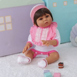 BEBÊ REBORN SARINHA MEGA REALISTA TODA EM SILICONE BANHO LIBERADO