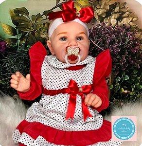 Bebê Reborn Clarinha, super fofa e encantadora, mega realista
