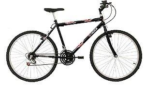 """Código 04 -  Bicicleta aro 26"""" Ferro - Tamanho 17"""""""