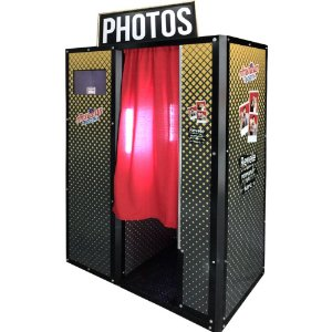 Cabine de fotos automática - Modelo Franquia