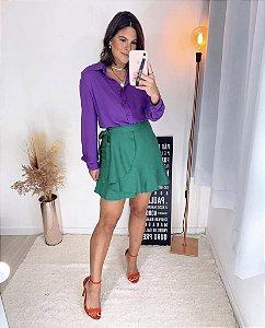 Camisa Crepe Clássica - Cléa