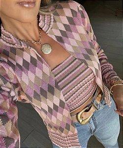 Twin Set Rayon - top e casaqueto Melina