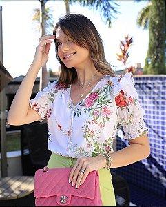 Blusa Floral + Regata - Jessica