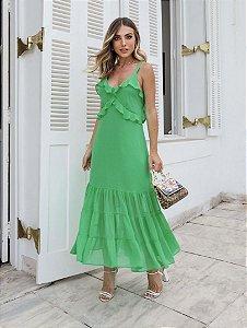 Vestido Longuete Chiffon - Juliana