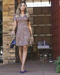 Vestido Animal Print - Olivia