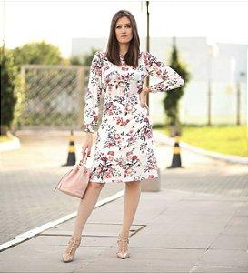 Vestido Midi Floral - Venina