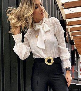 Blusa Crepe Laço - Lorraine
