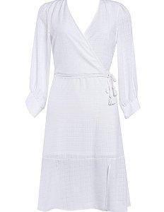 Vestido Crepe Texturizado - Melina