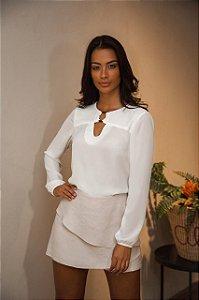 Camisa Luciana (OFF e PRETA)