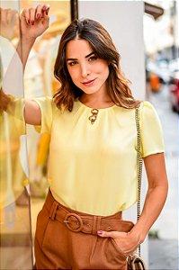 Blusa Crepe- Cristina (cores)