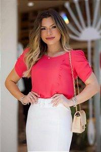 Blusa Crepe - Paty (cores)