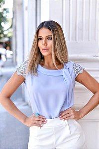 Blusa Crepe - Milena (Cores)