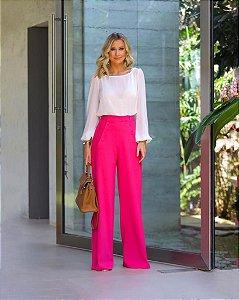 Pantalona Alfaiataria Pink