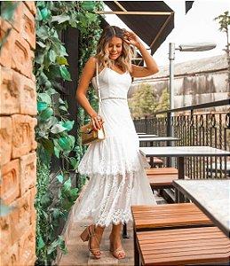Vestido Renda Mirella