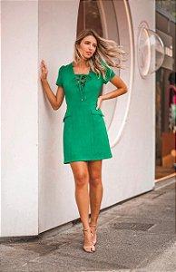Vestido Linho Leila