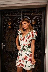 Vestido Print Flowers