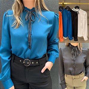 Camisa Crepe - Renata