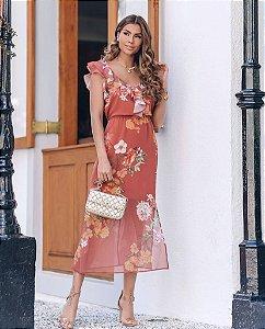 Vestido Floral - Dorothy