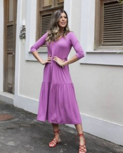 Vestido Midi - Helena