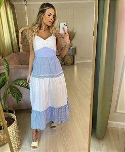 Vestido Tricoline - Amália