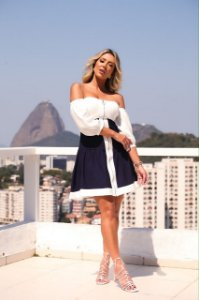 Vestido Claudia ( linho)