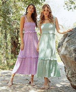 Vestido Crepe - Isabella