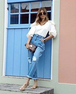 Calça Jeans Slouchy