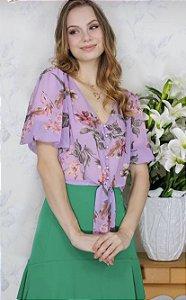 Cropped Floral - Sônia