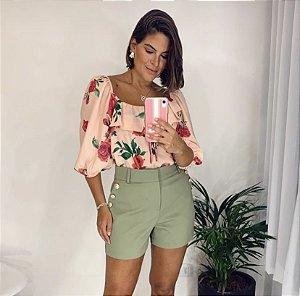 Blusa Floral - Marielle