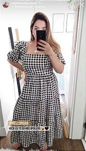 Vestido Xadrez Vichy - Amanda