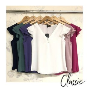 Blusa Crepe Classic