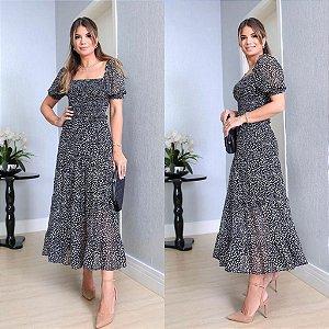 Vestido Estampa Liberty Manuela