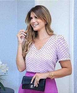 Blusa Poá Textura - Renata