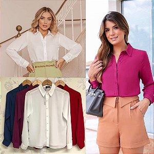Camisa Crepe - Leila