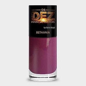 (Promoção)Esmalte Bella Brazil Os Dez Mandamentos Bethania (caixa com 6)