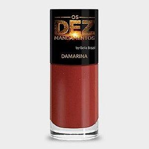 (Promoção)Esmalte Bella Brazil Os Dez Mandamentos Damarina (caixa com 6)