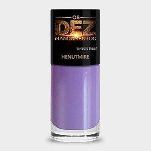 (Promoção)Esmalte Bella Brazil Os Dez Mandamentos Henutmire (caixa com 6)