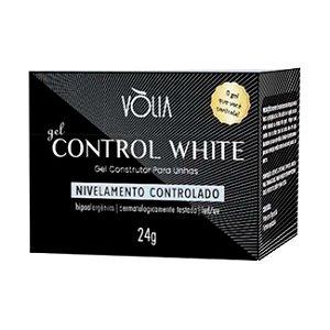 Gel Control White Vòlia Gel Construtor para Unhas 24g - 3 Unidades