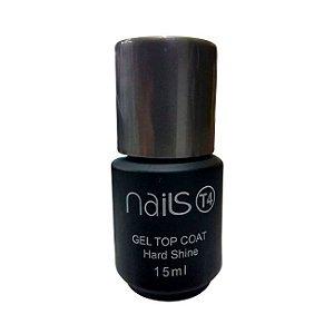 Top Coat Gel Nails T4 Hard Shine 15 ml - 3 Unidades