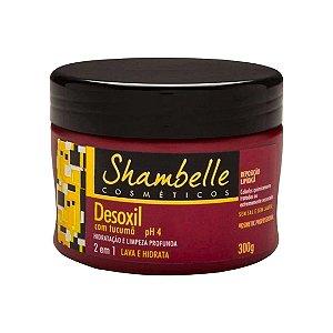 Shambelle Desoxil Tucumã Cabelos Quimicamente Tratados 300gr - 3 Unidades