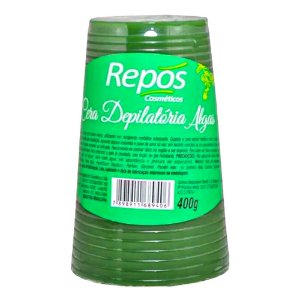 Cera Depilatória Repós Algas 400g - 3 Unidades