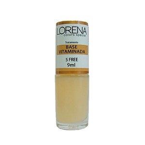 Base Vitaminada Lorena Color Special 5 Free 9ml - 6 Unidades