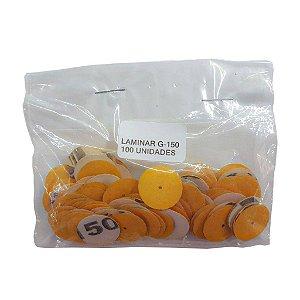 Lixa Disco Laminar Gramatura 150 - 3 Unidades
